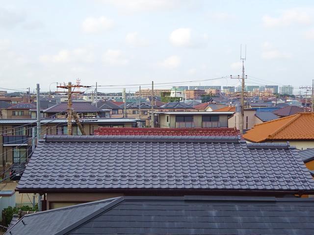 千葉県八千代市の和瓦の葺き替え工事