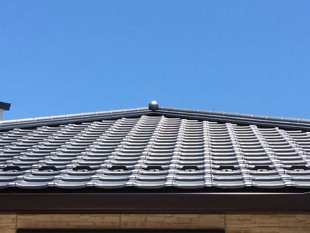 愛知県 高浜市の平板瓦の和風仕様