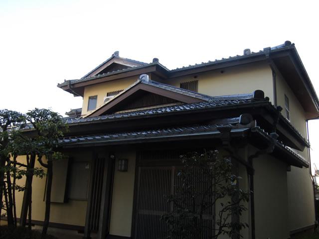 築25年セメント瓦の屋根の軽量化