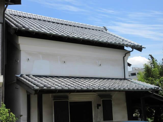 和風瓦葺き替え 耐風耐震工法